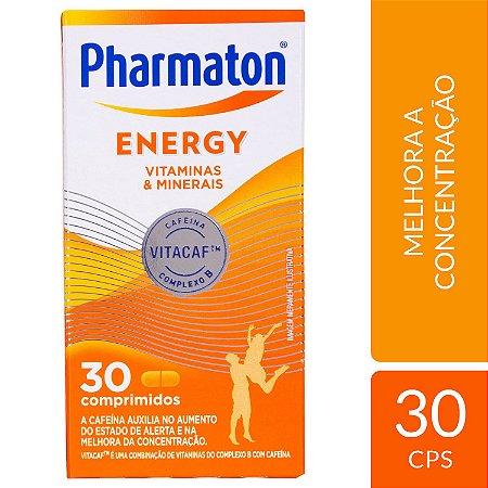 MULTIVITAMÍNICO PHARMATON ENERGY 30 CÁPSULAS