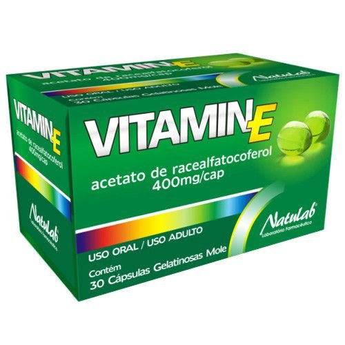 VITAMIN E 400MG 30CAPS GELATINOSA