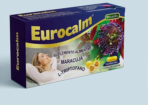 EUROCALM (MARACUJÁ + L-TRIPTOFANO) C/20CPS