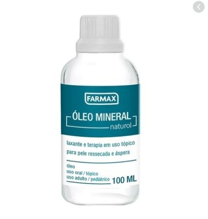 OLEO MINERAL NATURAL 100ML