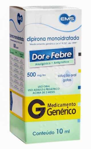DIPIRONA MONOIDRATADA - 10ML