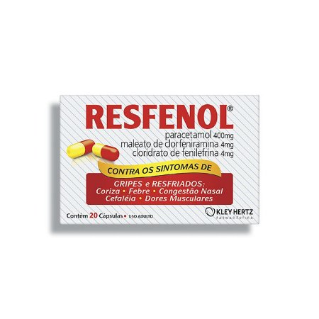 RESFENOL CX 20 CAP     VAL:30/10/2021