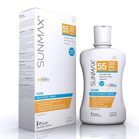 Protetor Solar Sunmax Fluid FPS55