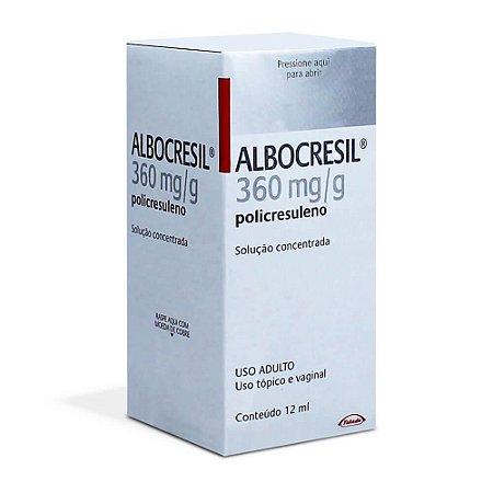 ALBOCRESIL SOL FR 12ML