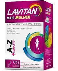LAVITAN AZ MULHER C/90 CPR
