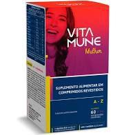 VITA MUNE MULHER  A- Z 60 CP