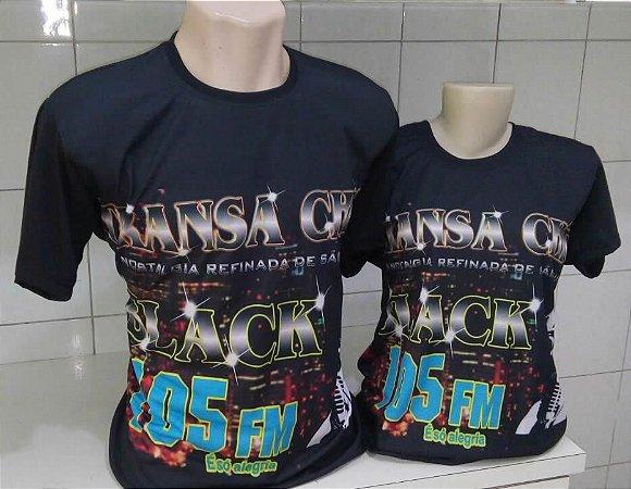 Camiseta Transachic Gola Careca