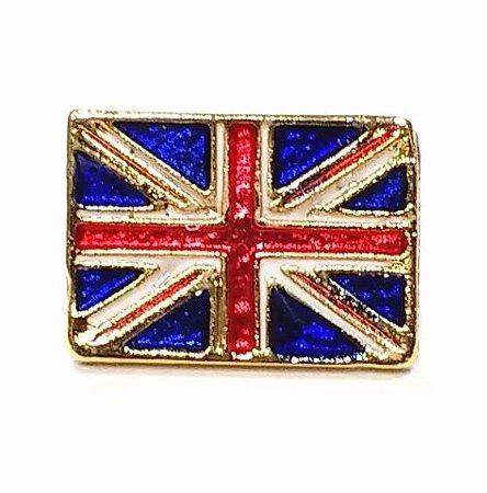 Bótom Pim Broche Bandeira Reino Unido Inglaterra 13x9mm