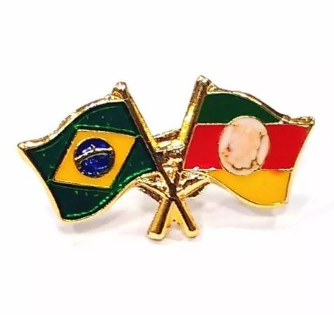 Pim Bótom Pin Broche Bandeira Do Estado Do Rio Grande Do Sul