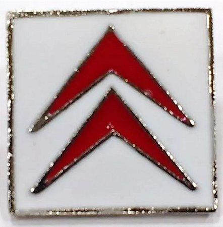 Pim Bótom Broche Pin Citroën Folheado À Prata De Qualidade