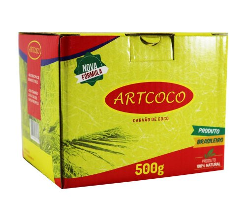 CARVÃO ART COCO 500G