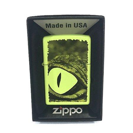 ISQUEIRO ZIPPO 29414 - ALLIGATOR GREEN