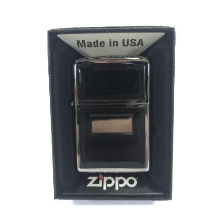 ISQUEIRO ZIPPO 355 - REG ULTRALITE BLACK