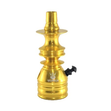 Stem Narguile Valhalla Pequeno- Dourado