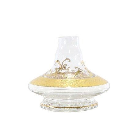 Vaso Pequeno Handouss Apolo Aladin 14cm- Transparente