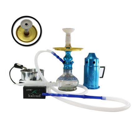 Narguile Completo Lord Amazon Hookah - Azul