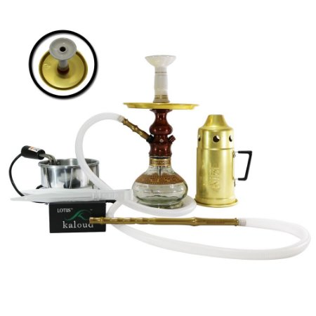 Narguile Completo Lord Amazon Hookah - Bronze