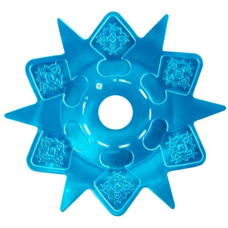 Prato Astéris Amazon Hookah - Azul
