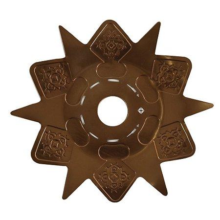 Prato Astéris Amazon Hookah - Bronze