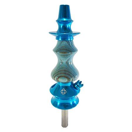 NARGUILE PEQUENO AMAZON UNIQUE - Azul Metal Azul