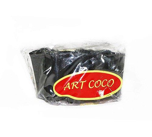 Carvão art Coco Para Narguile 200g