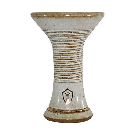 Rosh Queimador Narguile Ivi Bowl Magic - Creme