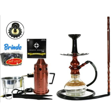 Narguile  Amazon Hookah Lord  Completo  - Bronze