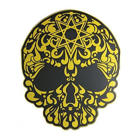 Tapete Base Protetora  Sorrilha Hookah - Amarelo
