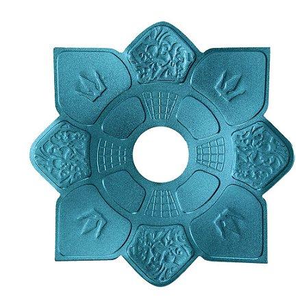 Prato Mini Imperial Hookah King - Azul