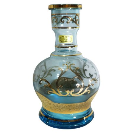 Vaso Jumbinho Bless 26cm Gold - Azul Bebe