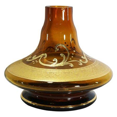 Vaso Pequeno Handouss Apolo Aladin 14cm- Ambar