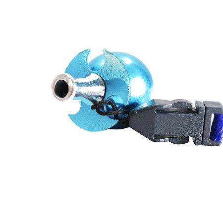 Piteira Higiênica Sorrilha -  Azul Três Furos