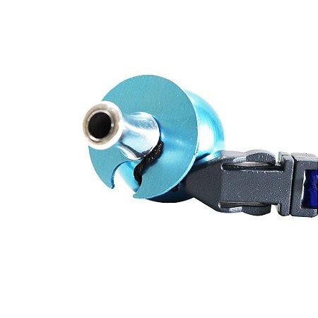 Piteira Higiênica Sorrilha -  Azul Um Furo
