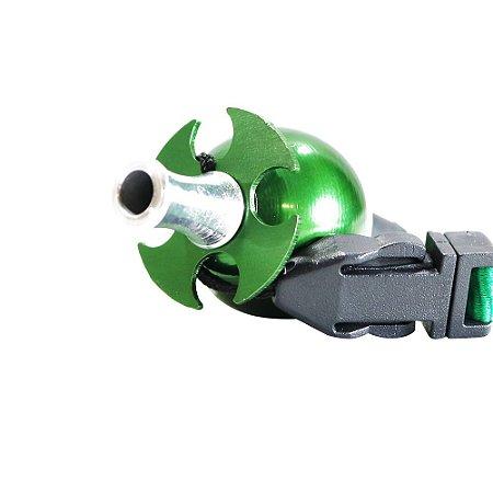 Piteira Higiênica Sorrilha -  Verde Quatro Furos