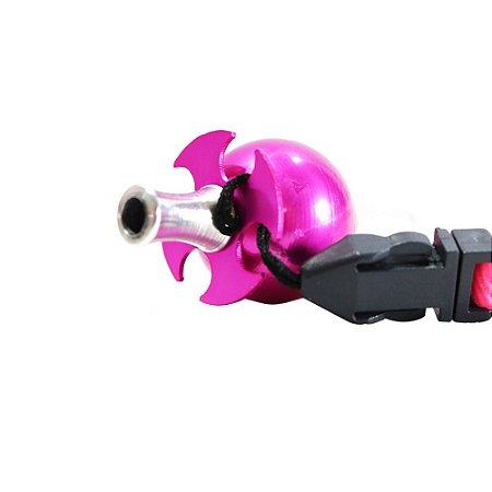 Piteira Higiênica Sorrilha -  Rosa Quatro Furos