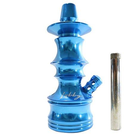 Stem Narguile Pequeno Lobby - Azul