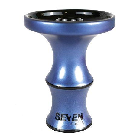 ROSH QUEIMADOR SEVEN HOOKAH  Premium Edition - Metalic Blue