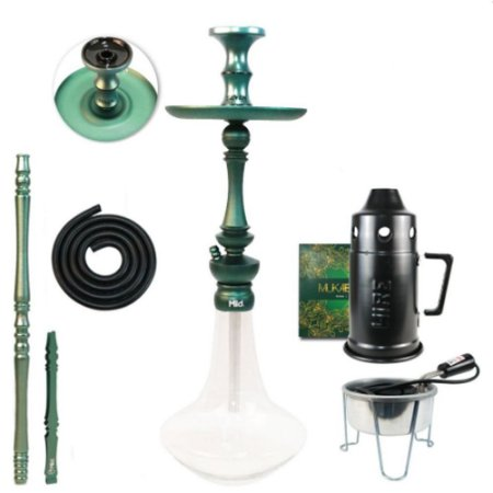 Narguile Sultan Miid  Completo Kit - Midnight Green
