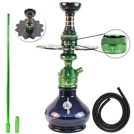 Narguile Triton Zip Completo Com Hoover - Verde