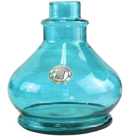 Vaso Angra Black Hookah Pequeno - Azul Bebe
