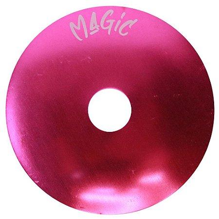 Prato Pequeno Magic Hookah Liso- Rosa