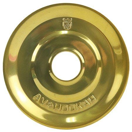 Prato Médio Av Hookah - Dourado