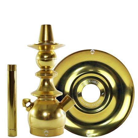 Kit Stem Kini Colors + Prato Sultan Curvyzz - Dourado