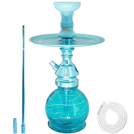 Kit Narguile Little Monster Anubis - Azul Bebê