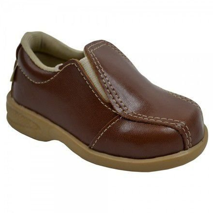 Sapato Social Infantil Masculino Marrom Com Cinto