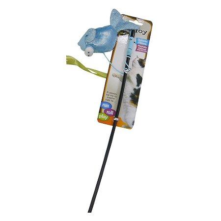 Brinquedo Cat Vara Peixe Azul PT-42-A