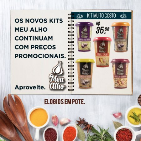 Kit Muito Gostoso - Meu Alho - 05 itens