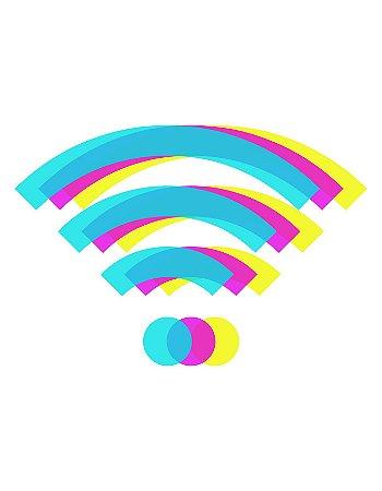 Quadro Decorativo Poster Wi-Fi
