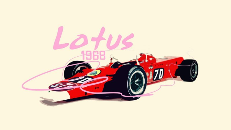 Quadro Decorativo Poster Carro de Fórmula #1