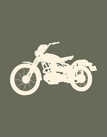 Quadro Decorativo Poster Moto
